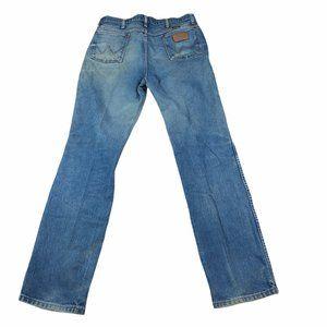 Vtg Wrangler Cowboy Cut Jeans 936PWD  36x36 35x35